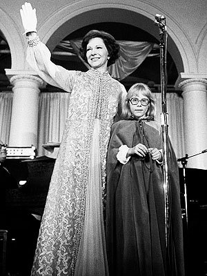 Розалин Carter, Mary Matise for Jimmae, 1977, Inaugural Gown