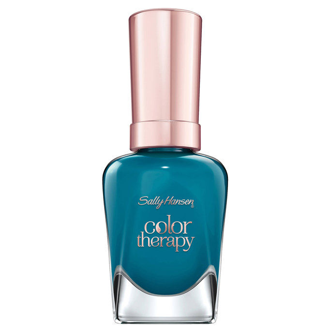 излет Hansen Color Therapy Nail Polish in Teal Good