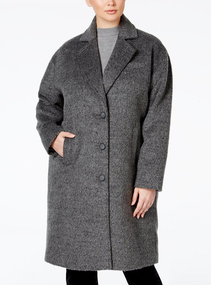 Jones New York's Brushed Peacoat