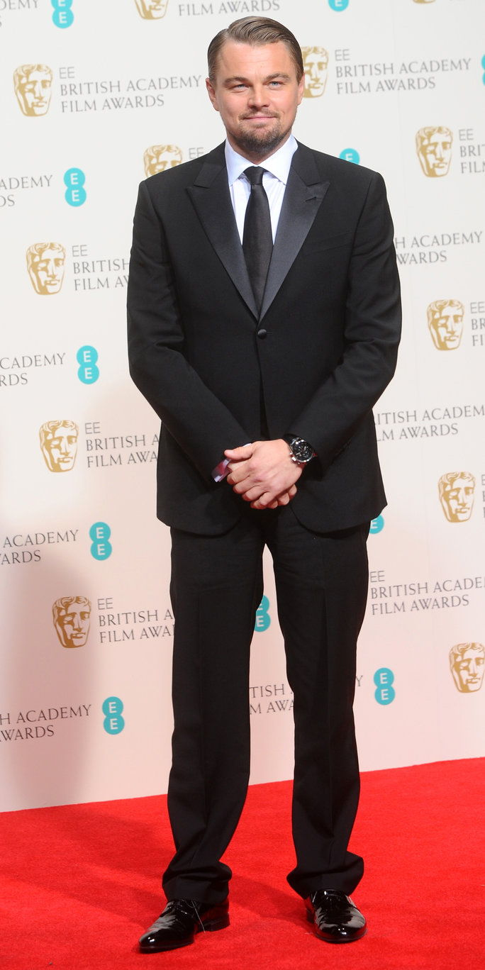 Στο the EE British Academy Film Awards in London, 2014.