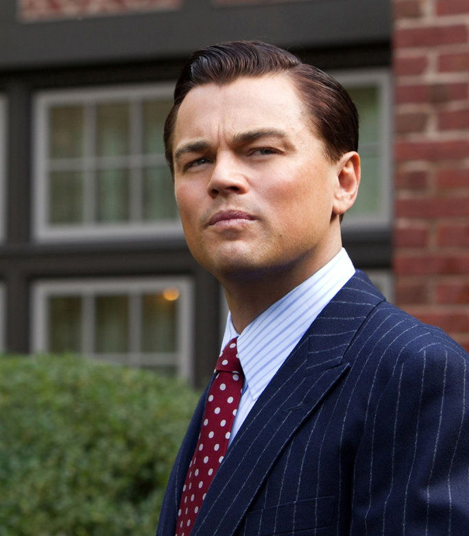 Ο WOLF OF WALL STREET, Leonardo DiCaprio, 2013, ph: Mary Cybulski/©Paramount Pictures/courtesy Everett Collection