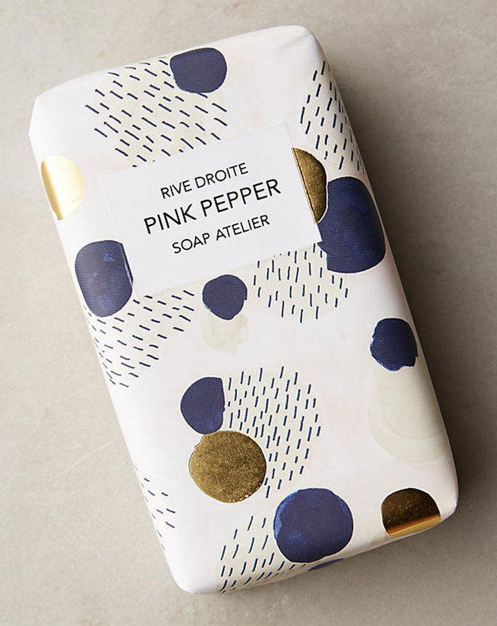 разцепвам Droite Artist Atelier Pink Pepper Bar Soap