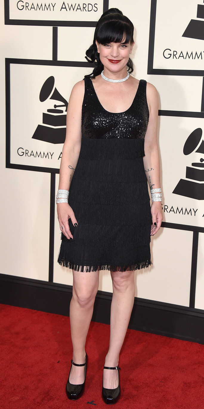 Pauley Perrette - Grammys 2016