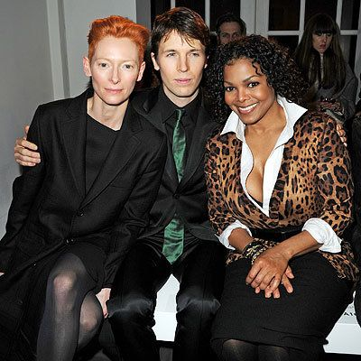 Тилда Swinton, Ryan McGinley and Janet Jackson
