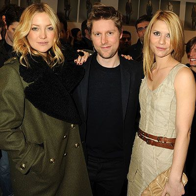Кейт Hudson, Christopher Bailey and Claire Danes