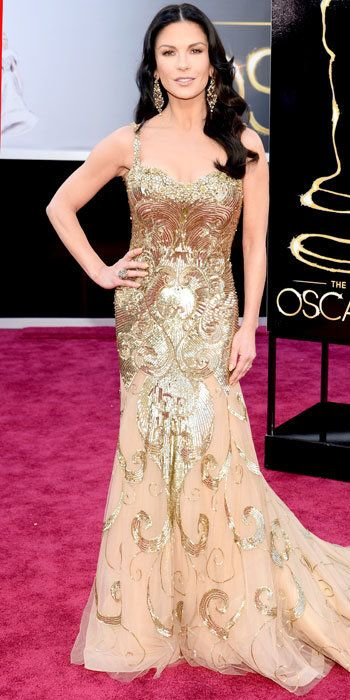 Катрин Zeta-Jones in Zuhair Murad