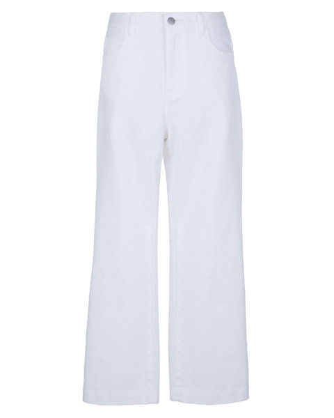 Στοκ Up on White Denim