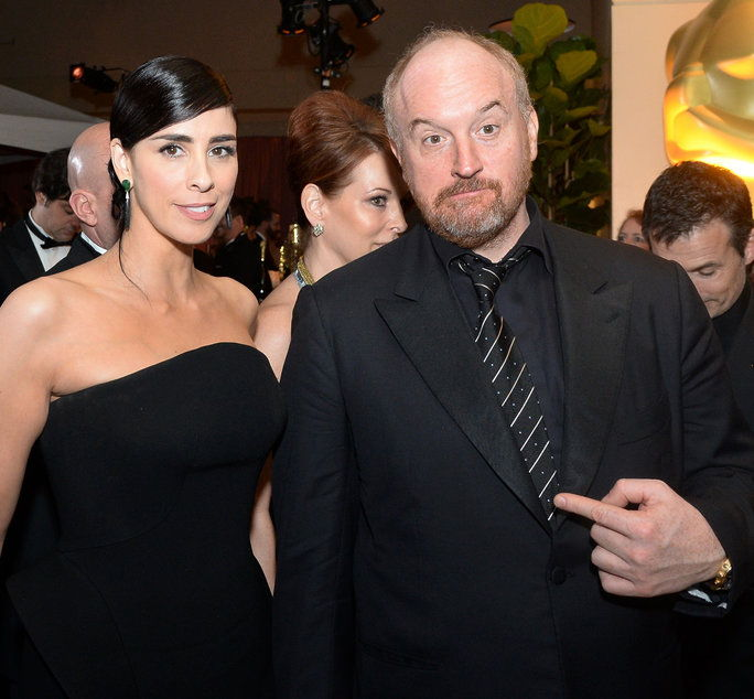 Сара Silverman and Louis C.K.