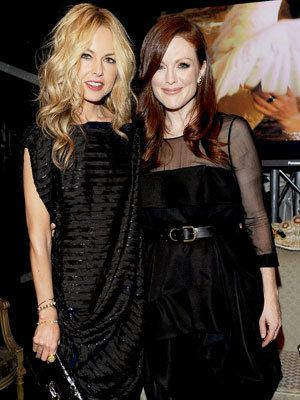 Милан Fashion Week - Rachel Zoe and Julianne Moore - Bulgari Chandra Event