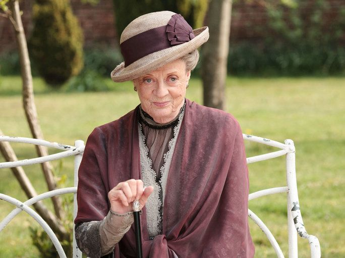Маги Smith - Lady Violet - Downton Abbey