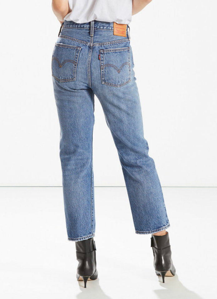 LEVI'S WEDGIE FIT STRAIGHT LEG