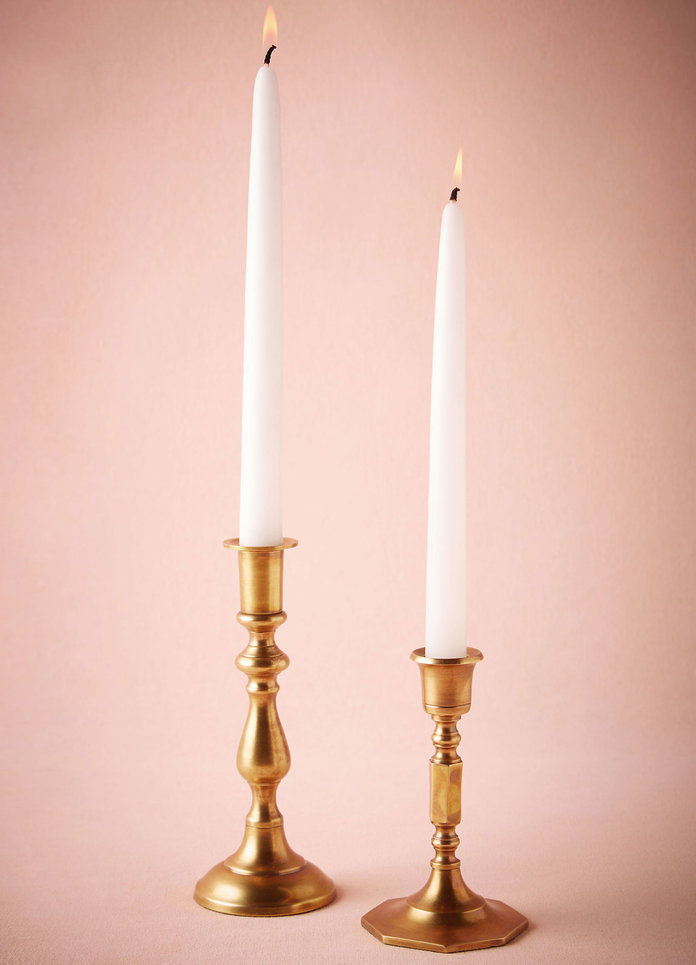 ПРЕВЪРНА BRASS CANDLESTICKS