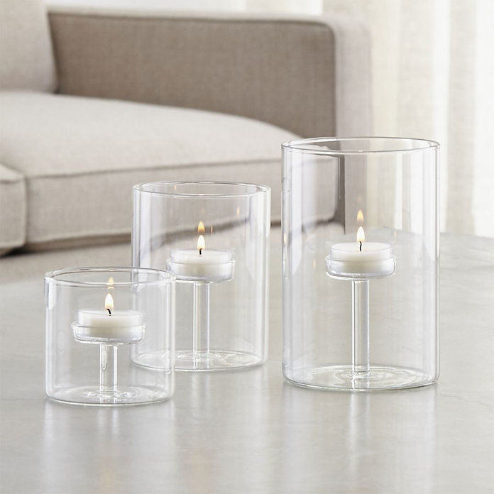 Елза Glass Tea Light Candle Holders