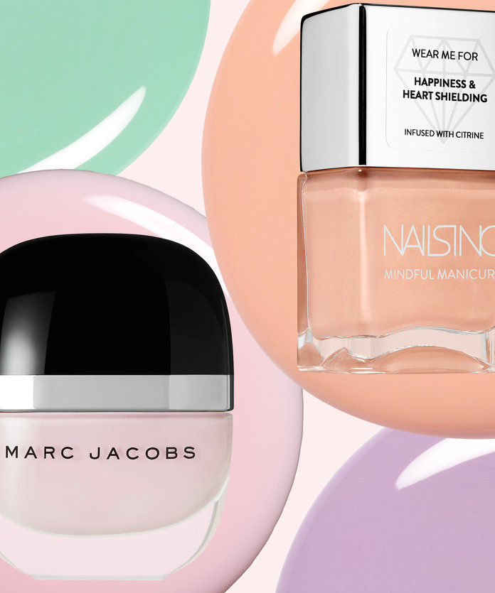 Αυτά τα Pastel Nail Colors Are Sweeter Than Easter Candy