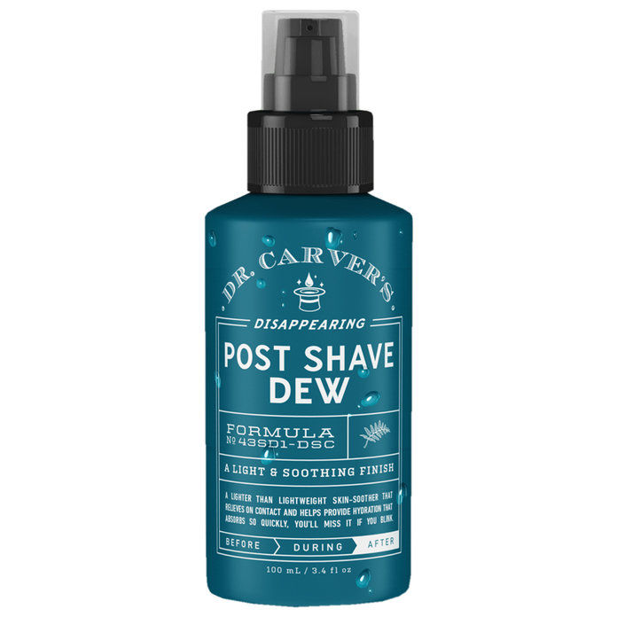 DR. CARVER'S DISAPPEARING POST SHAVE DEW