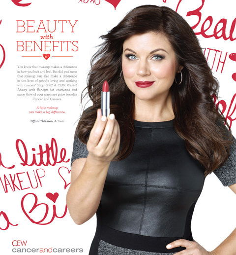 Tiffani Thiessen - CEW - QVC - Cancer and Careers