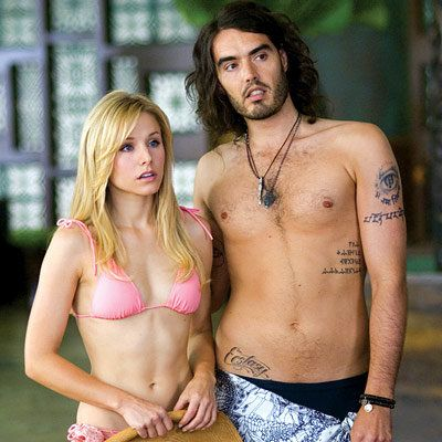 kristen bell; forgetting sarah marshall; russell brand
