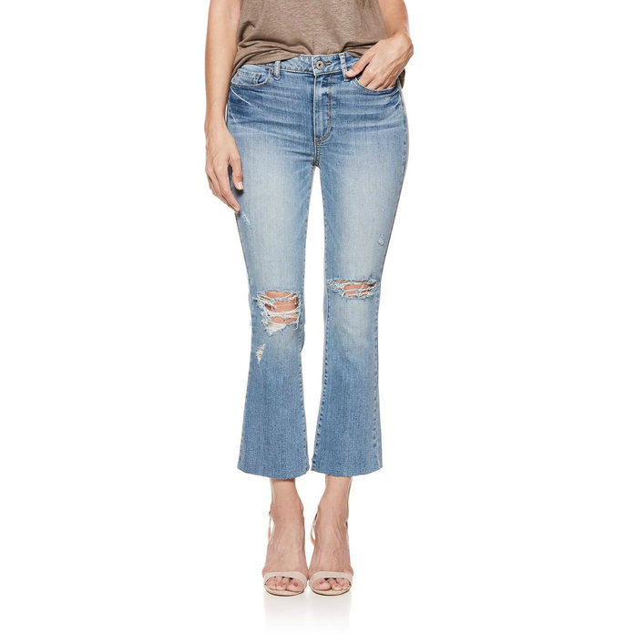 Colette High Waist Crop Flare Jeans