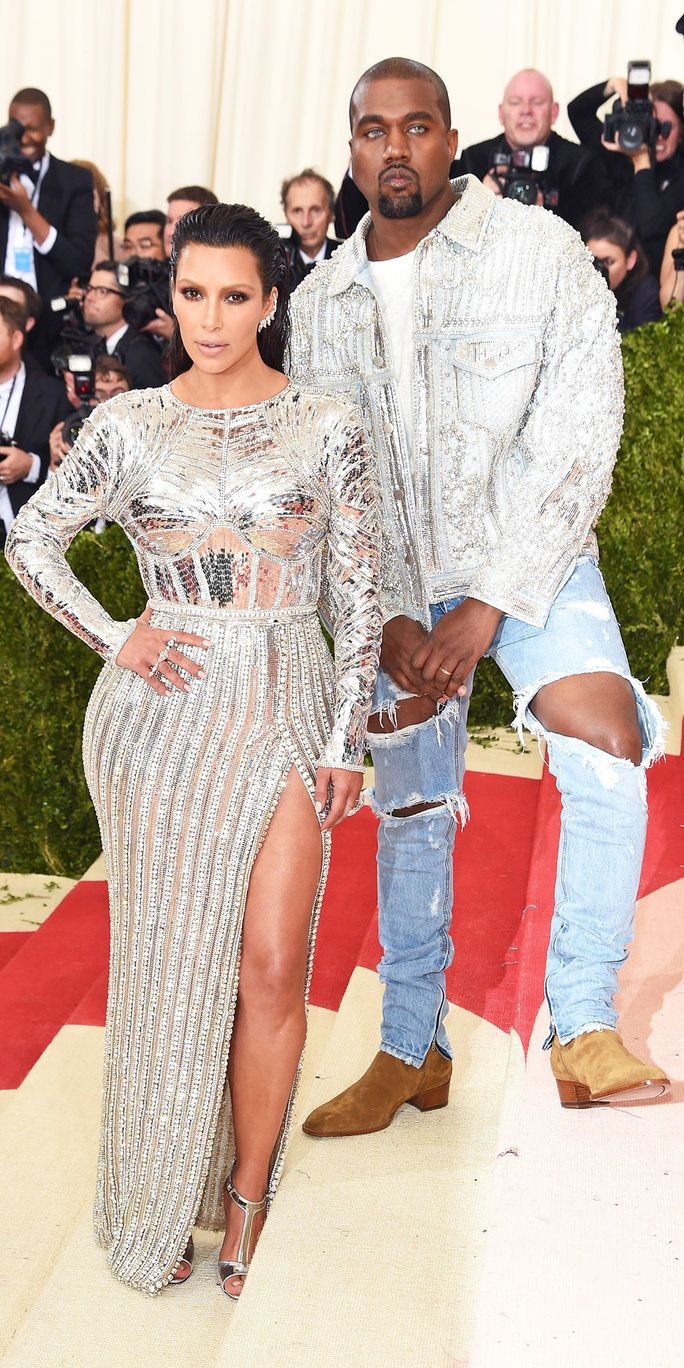 Ким Kardashian West and Kanye West