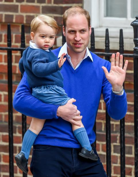 Най- Duke And Duchess Of Cambridge Welcome Their Second Child