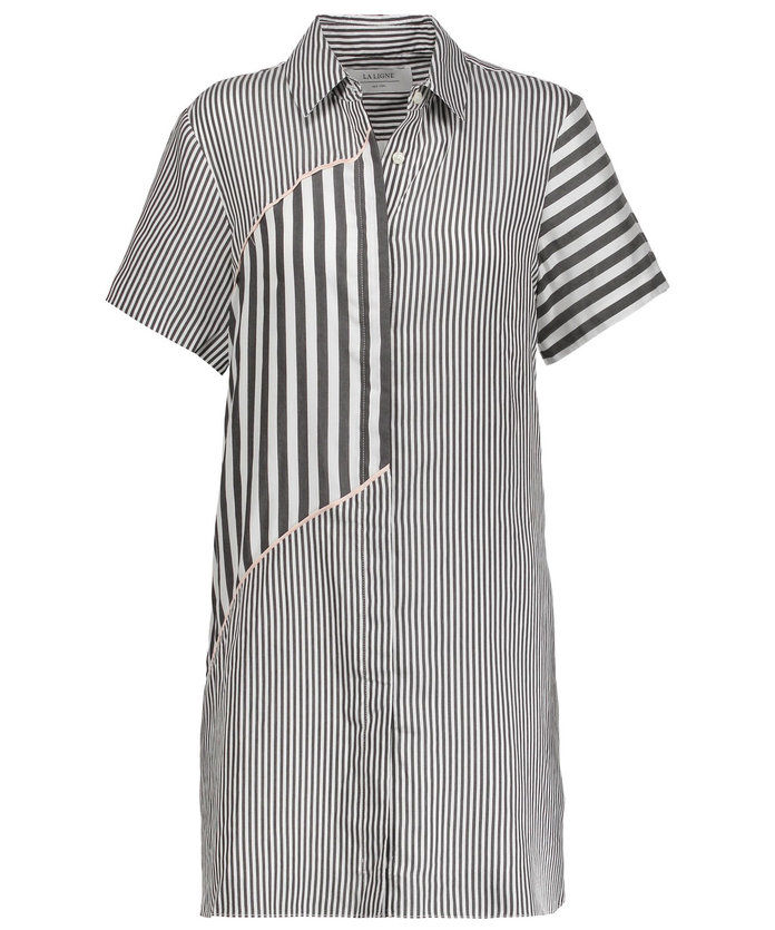 ΛΑ LIGNE STRIPED SHIRTDRESS