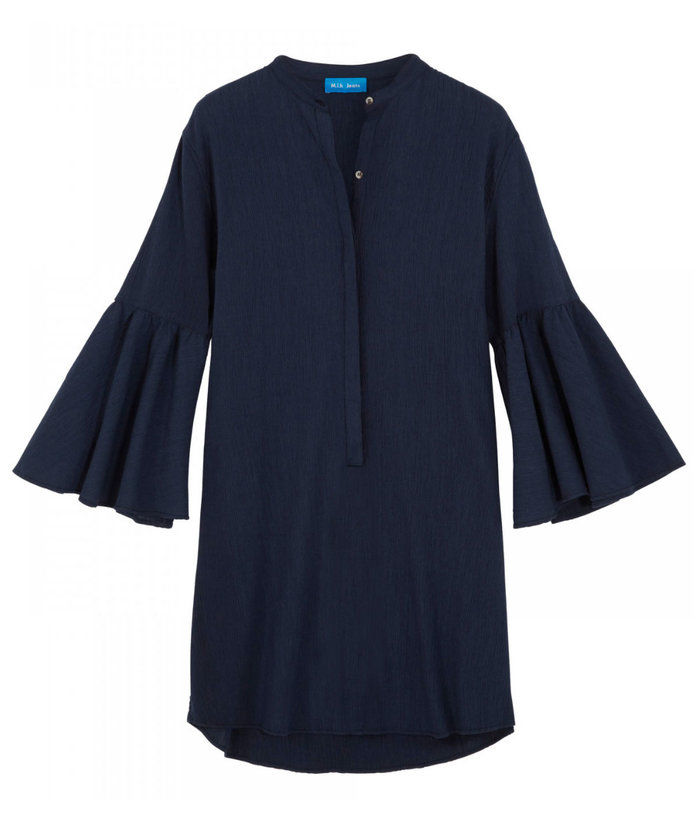 M.I.H. CIRCLE-SLEEVE SHIRTDRESS