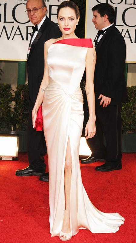 Αντζελίνα Jolie attends 2012 Golden Globes