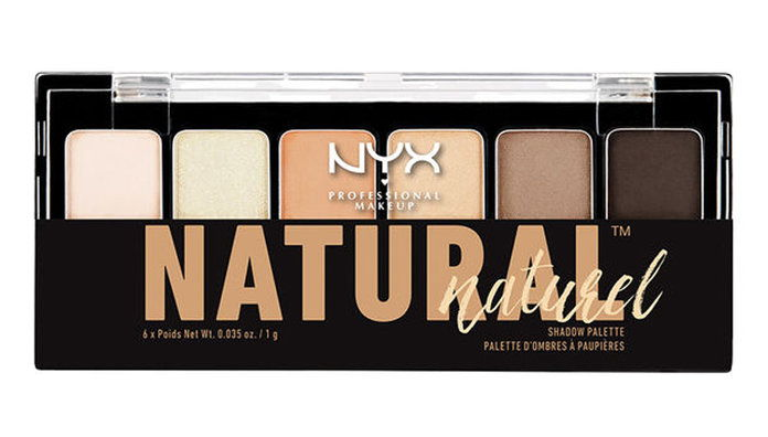 Никс The Natural Shadow Palette