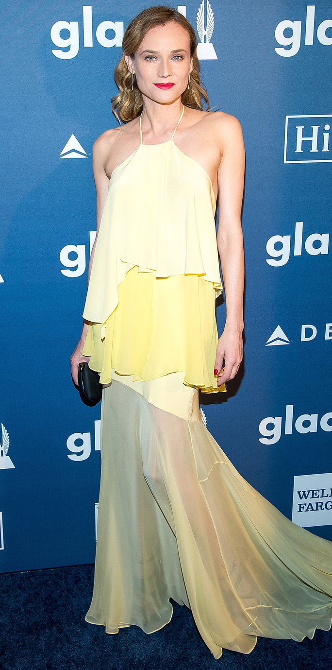 Ηθοποιός Diane Kruger attends the 27th Annual GLAAD Media Awards at The Waldorf=Astoria on May 14, 2016 in New York City.