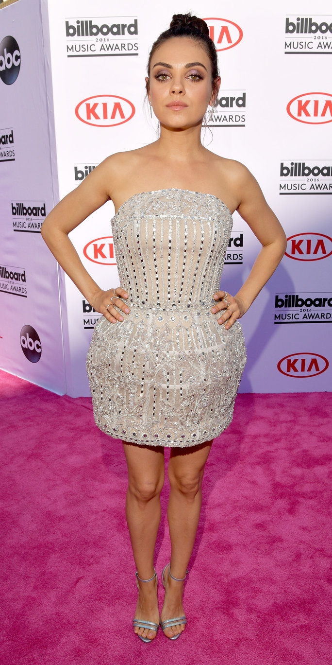 LAS VEGAS, NV - MAY 22: Actress Mila Kunis attends the 2016 Billboard Music Awards at T-Mobile Arena on May 22, 2016 in Las Vegas, Nevada. (Photo by Lester Cohen/BBMA2016/Getty Images for dcp)