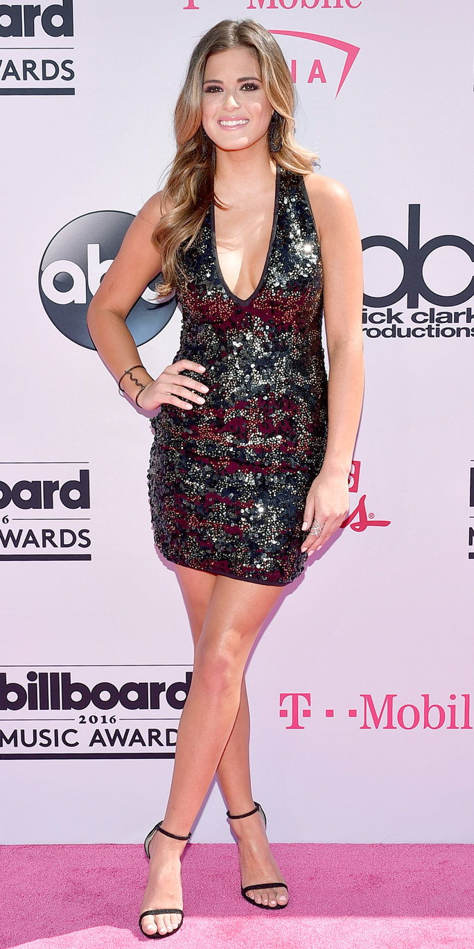 телевизия personality JoJo Fletcher attends the 2016 Billboard Music Awards at T-Mobile Arena on May 22, 2016 in Las Vegas, Nevada.
