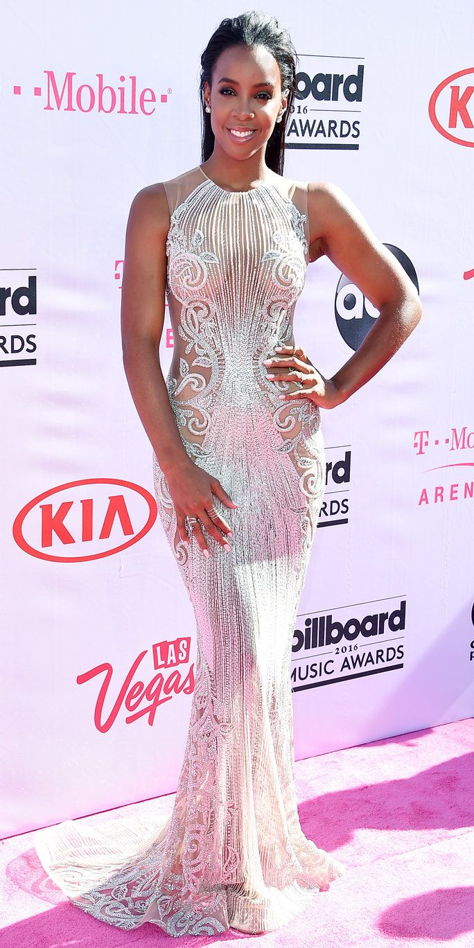 запис artist Kelly Rowland attends the 2016 Billboard Music Awards at T-Mobile Arena on May 22, 2016 in Las Vegas, Nevada.