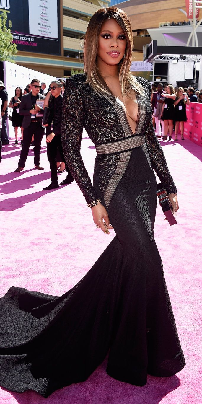 актриса Laverne Cox attends the 2016 Billboard Music Awards at T-Mobile Arena on May 22, 2016 in Las Vegas, Nevada.