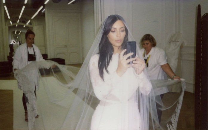 Ким Kardashian Wedding - Embed - 3