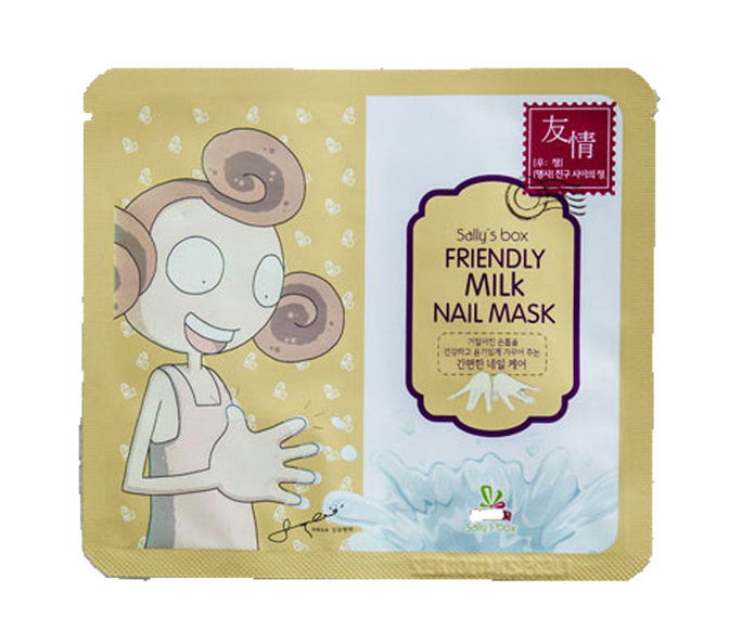 Εξοδος's Box Friendly Milk Nail Mask
