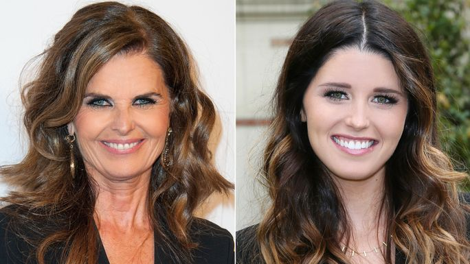 Мария Shriver and Katherine Schwarzenegger
