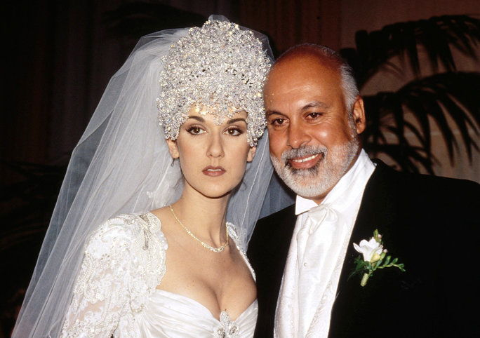 Селин Dion and Rene Angelil