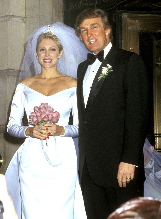 Доналд Trump and Marla Maples