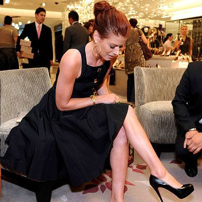 Debra Messing - Shopping Tips