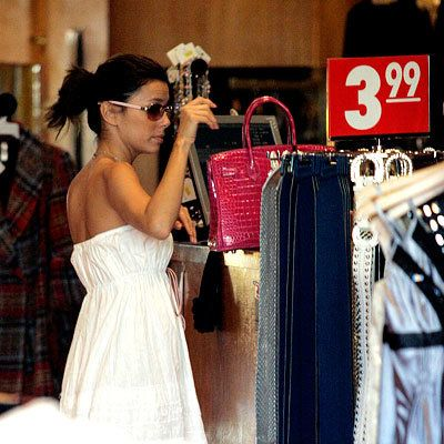 Eva Longoria Parker - Shopping Tips