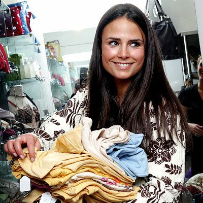 Jordana Brewster - Shopping Tips
