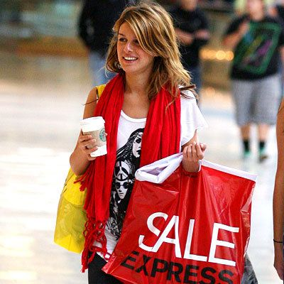 Shenae Grimes - Shopping Tips