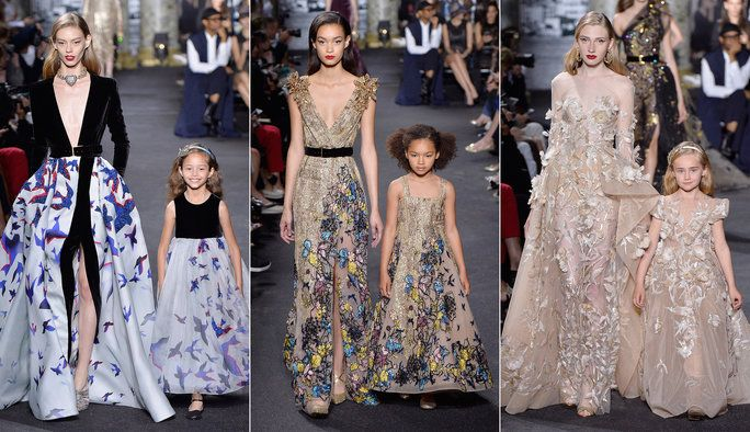 Ели Saab Debuts Mommy-and-Me Looks