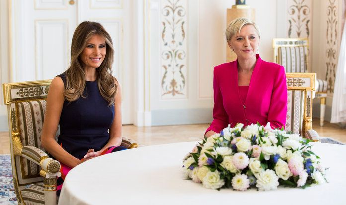 Мелания Trump Poland First Lady - EMBED 2