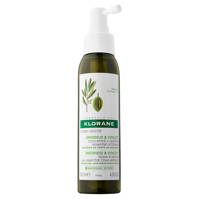 Klorane Leave-In Spray With Essential Olive Extract