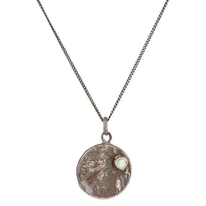 монета Pendant Necklace