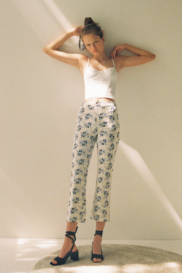 Λαούρα Ashley & UO Leila Kick Flare Pant