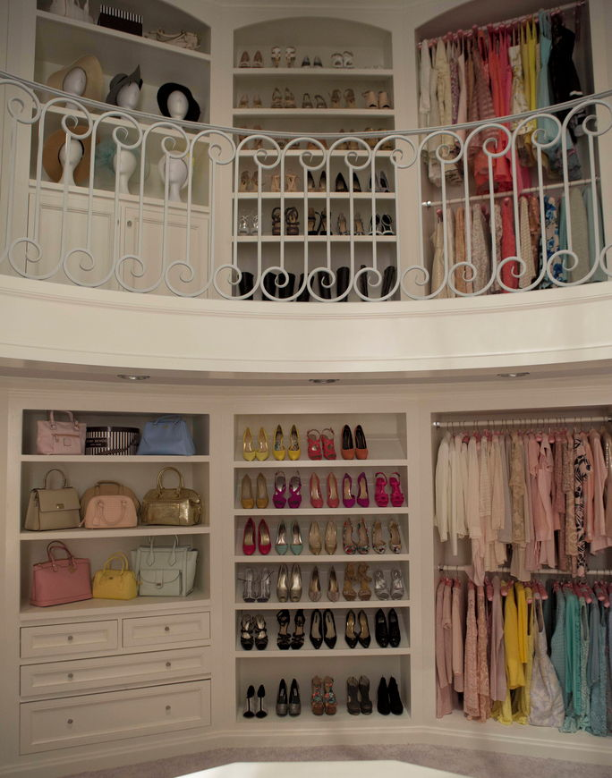 Chanel Oberlin's closet is epic