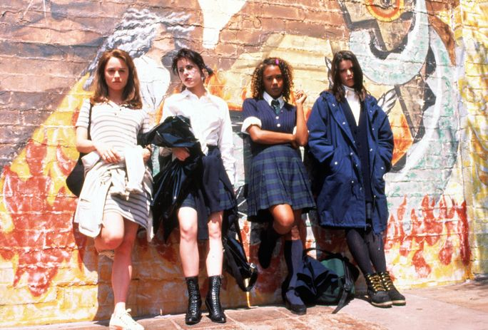 Ο CRAFT, Robin Tunney, Neve Campbell, Rachel True, Fairuza Balk, 1996, mural