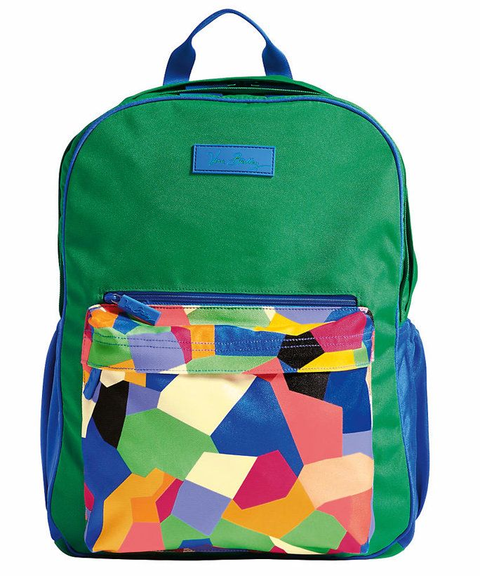 Μεγάλο Colorblock Backpack